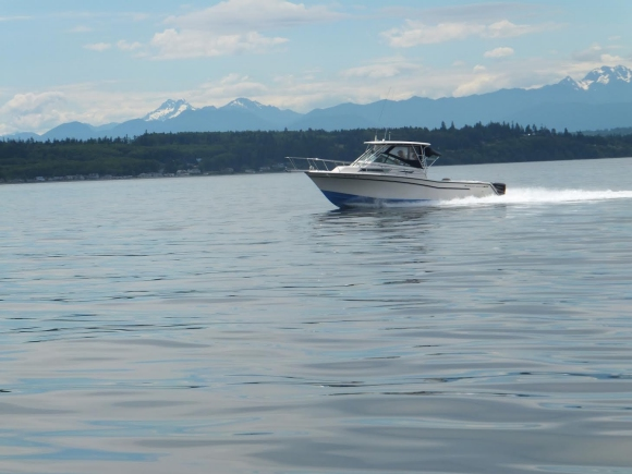 Home ridge to river outdoors for Puget sound fishing